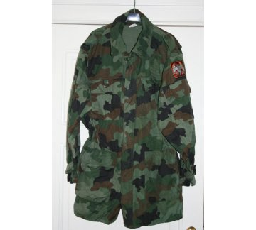 Куртка JU, woodland, зимняя б/у