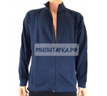 Блуза GB, спортивная, синяя, 80% х/б 20% полиэстер, новая L