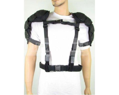 Щитки GB на плечи черные  б/у