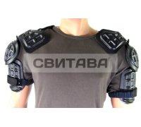 Щитки GB на плечи черные облегч б/у