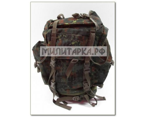 Рюкзак BW, большой, боевой, зеленый горошек б\у
