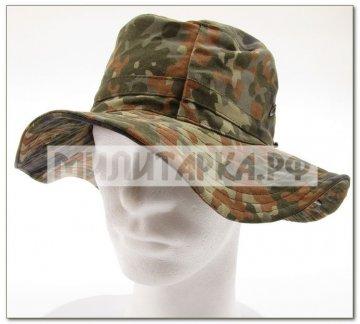 Шляпа BW flecktarn б/у