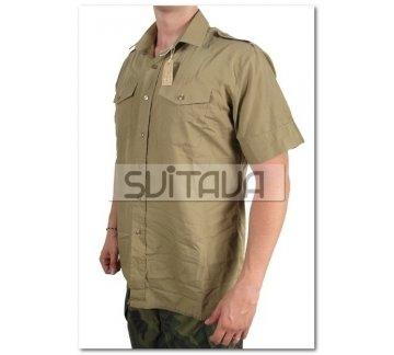 Рубашка GB бежев., зелен., синяя короткий рукав