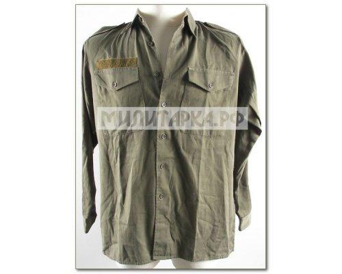 Рубашка AT хаки длинный рукав б/у
