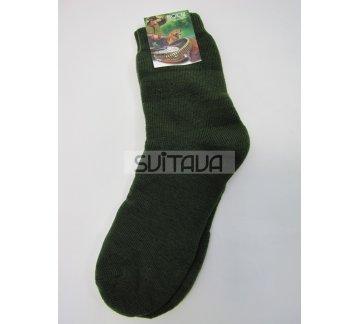 Носки CZ зеленые спортивные теплые новые